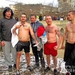 Иван Тотев извади кръста от река Дряновска