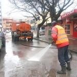 Започна пролетното измиване на улиците в Севлиево