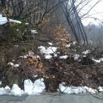 Свлачище затвори пътя между Севлиево и Априлци