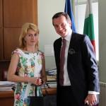 Зам.-посланикът на Австрия се срещна с кмета на Габрово