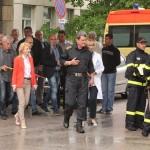 Гл. комисар Николай Николов участва в учението на щаба за кризи