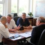 Областният се срещна с директора на БДЖ – Товарни превози