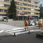 До края на юли започват полагането пътната маркировка в Севлиево