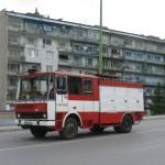 Забравена включена ютия причини пожар в Севлиево