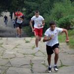 Скоростно изкачване на стълбите към Шипка