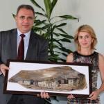 Посланикът на Азербайджан откри изложба за гр. Шаки в Габрово