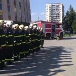 Нова техника получиха пожарникарите за празника си