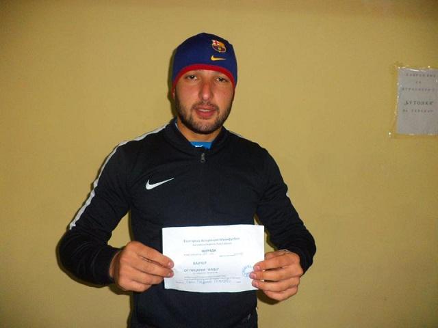 Авторът на най-бързото попадение Пенко Стефанов - Бате Пенко