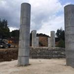 Напредва изграждането на съоръжение, част от обходa на Габрово