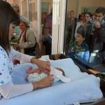 Нова зала в севлиевската болница за изписване на новородени