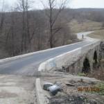 Ремонтът на моста над Крапец приключва