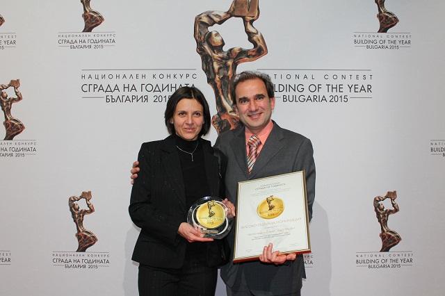 """От ляво надясно: арх. Иглика Люцканова и арх. Александър Генчев – """"СолЕр Интернешънъл"""" ООД."""