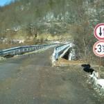 Възстановено е движението по обновения мост над р. Крапец