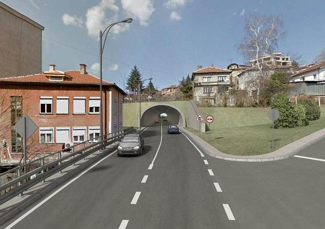Визуализация на Източната градска улица. Снимка: Община Габрово