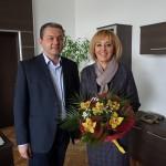 Кметът Иван Иванов се срещна с омбудсмана Мая Манолова