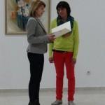 Таня Христова поздрави жените художнички от Пролетния салон