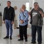 """Христо Йонков откри самостоятелната си изложба """"Глинени структури"""""""