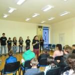 """Първо представяне на импровизационен театър по темата """"наркомании"""""""