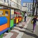 Патилански влак-читалня посреща малките любители на книгите