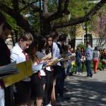 Флашмоб – част от Маратона на четенето в Габрово