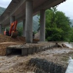 Обилните валежи нанесоха сериозни поражения в Габрово