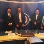 Кирил Добрев и Атанас Зафиров обсъждат антикорупционни мерки с румънски депутати