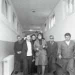 Никола Анастасов и Георги Калоянчев при посещението им в Габрово