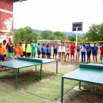 Отец Спас освети новата спортна площадка в Богатово