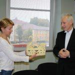 Кметът посрещна диригента на камерния хор към Могильовската капела