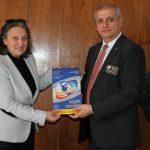 Нела Рачевиц се срещна с новия Дистрикт гуверньор на Ротари