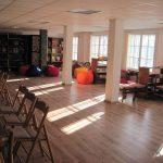 Нова зала в библиотеката