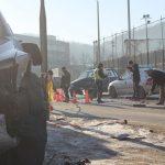 Кола и джип се помляха на оживено кръстовище в Габрово (снимки)
