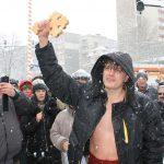 Именник извади кръста в Габрово (снимки)
