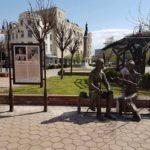 Информационни табла на няколко езика за туристически обекти в Севлиево