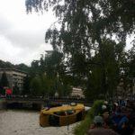 Извадиха полетялото във водите на Янтра такси! (снимка)