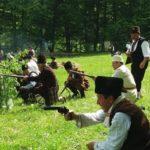141 години Априлска епопея – възстановка в местността Боазът (снимки)