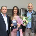 Кметът на Севлиево награди Доника Ботева за европейската титла