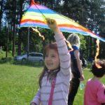 Празник на хвърчилата в местността Градище над Габрово