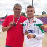 Хрис Стоянов получи бронзовото си отличие