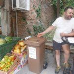 1500 кг чист био отпадък само за 10 дни