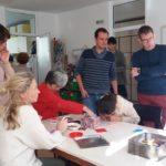 Белгийски специалисти посетиха Дневния център
