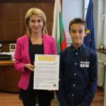 """Организаторите на """" Grand Prix Ябълка"""" с благодарствено писмо до кмета"""