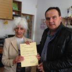 Николай Григоров поздрави хората със зрителни увреждания