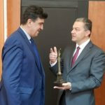 Македонски кмет получи Статуята на свободата, символ на Севлиево