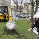 Първа копка на новото кръгово на гарата в Габрово (снимки)