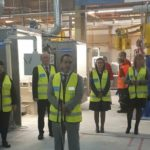 Откриха етап 1 от инвестиционната програма на завода за санитарна керамика и арматура