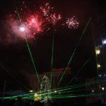 Коледната елха на Габрово грейна с Квартет Destiny и лазерно шоу (снимки)