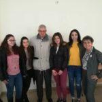 Шест момичета от НАГ работят към Ученическия институт на БАН