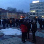 Габрово излезе на протест в подкрепа на пловдивския лекар