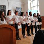 Учениците от НАГ честват 140-годишнината от Освобождението на България